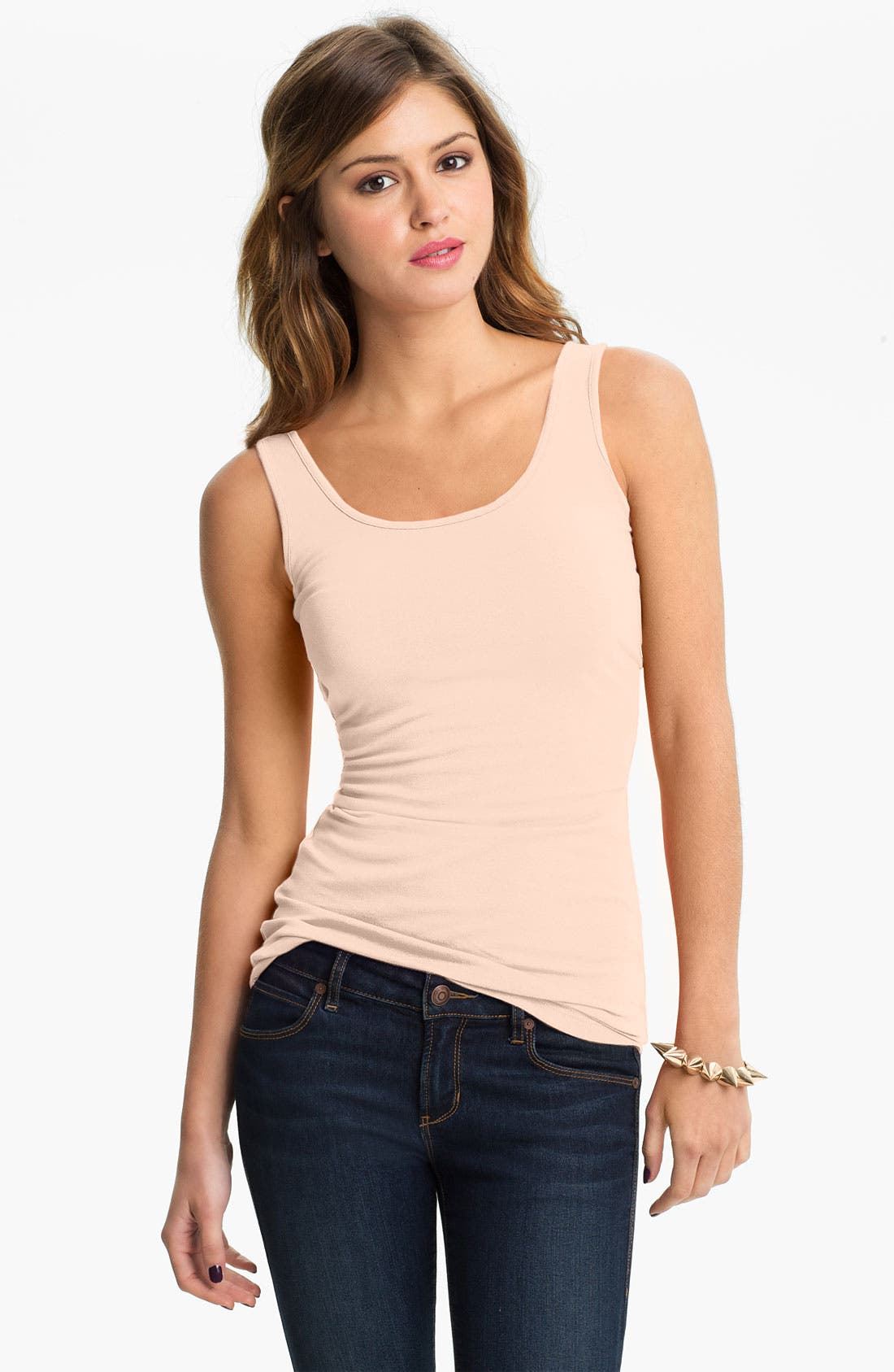 ,                             Double Scoop Neck Tank,                             Main thumbnail 309, color,                             688