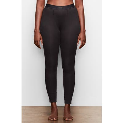 Plus Size Skims Cotton Rib Thermal Leggings