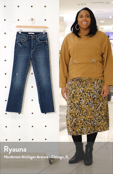The Stiletto High Waist Crop Bootcut Jeans, sales video thumbnail