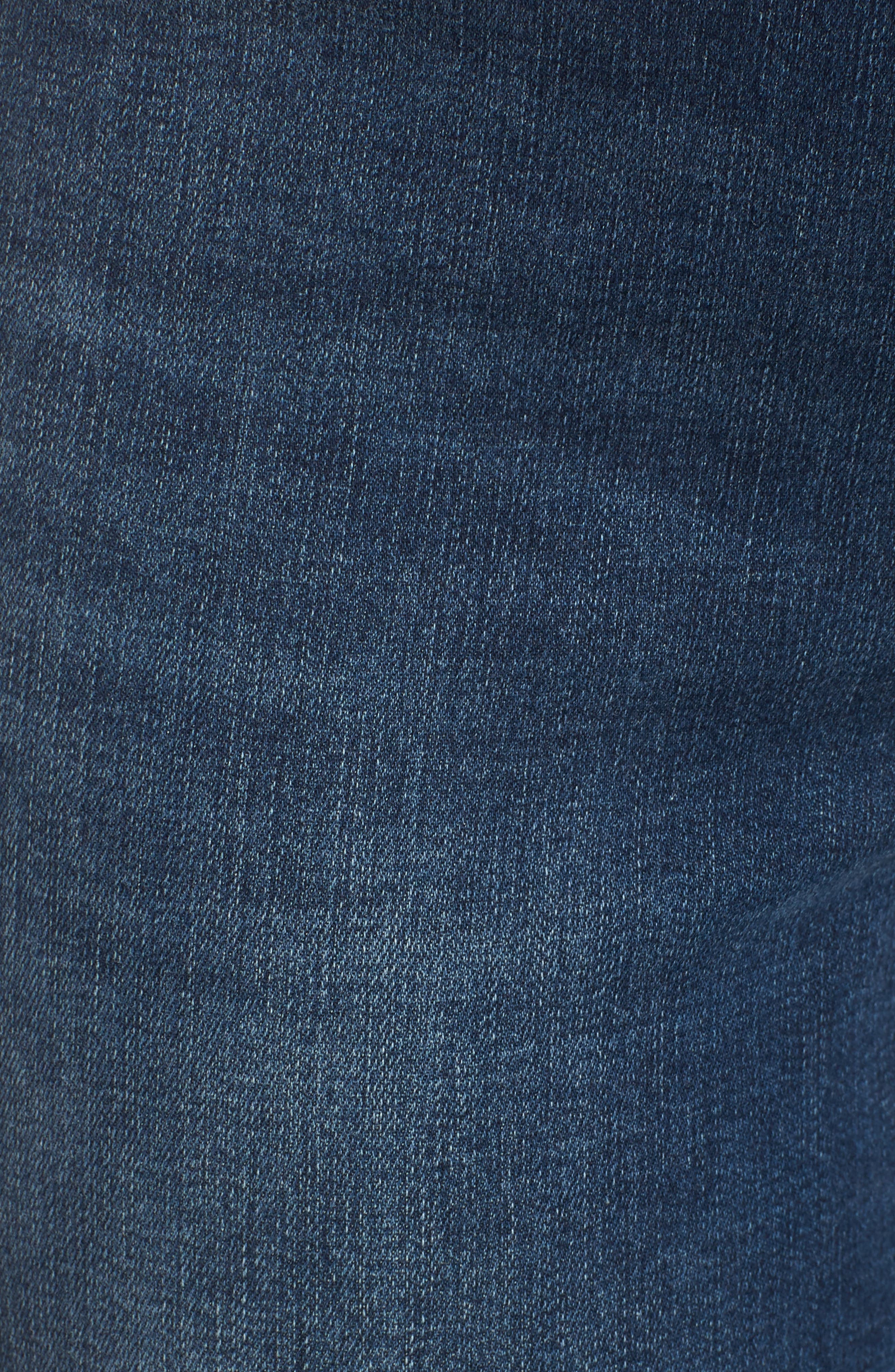 ,                             Distressed Skinny Jeans,                             Alternate thumbnail 6, color,                             MEDIUM WASH