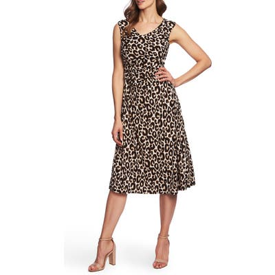 Chaus Animal Whimsy Dress, Black