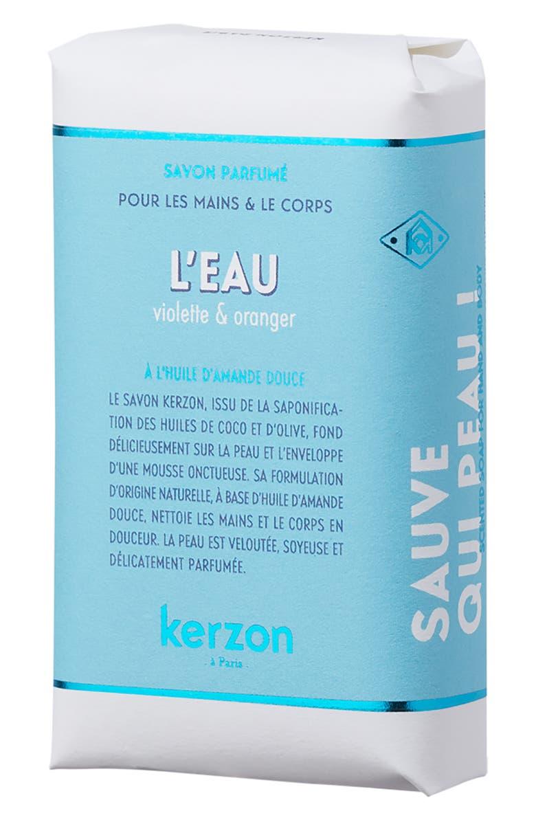 KERZON L'Eau Soap, Main, color, NO COLOR