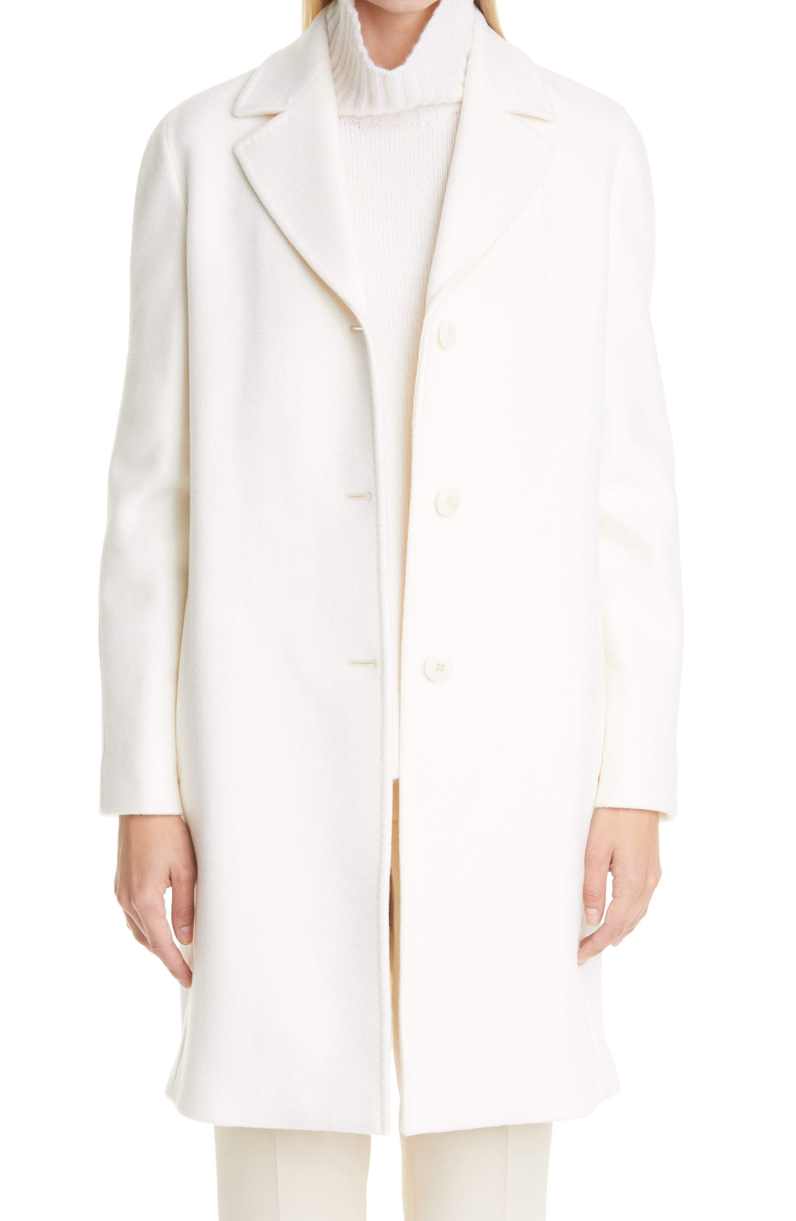Ginger Virgin Wool Coat