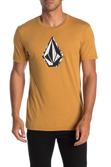 Image of Volcom Stone Logo Heathered T-Shirt