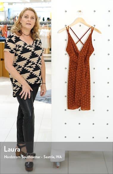 Strappy Twist Front Minidress, sales video thumbnail