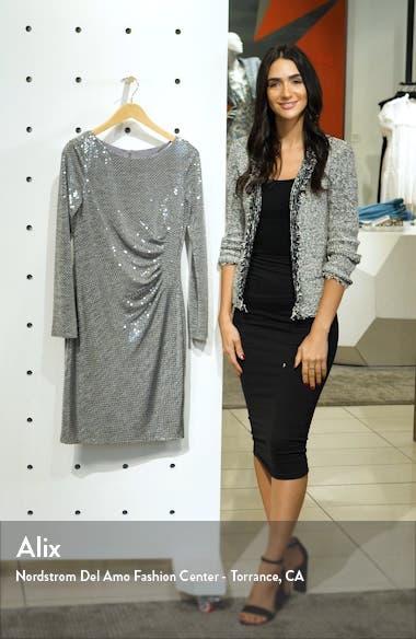 Metallic Long Sleeve Dress, sales video thumbnail