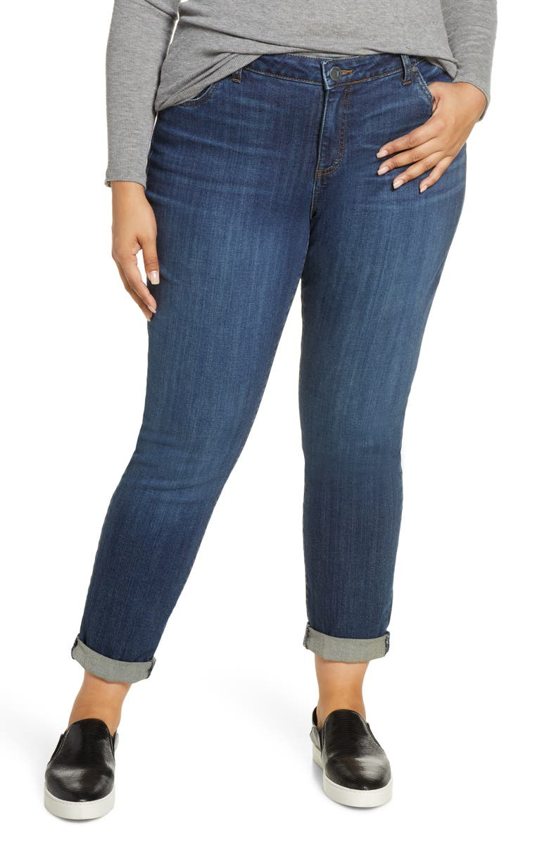 KUT FROM THE KLOTH Catherine Boyfriend Jeans, Main, color, UNSELFISH