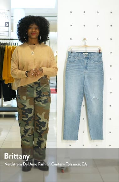 The Perfect Vintage Crop High Waist Jeans, sales video thumbnail