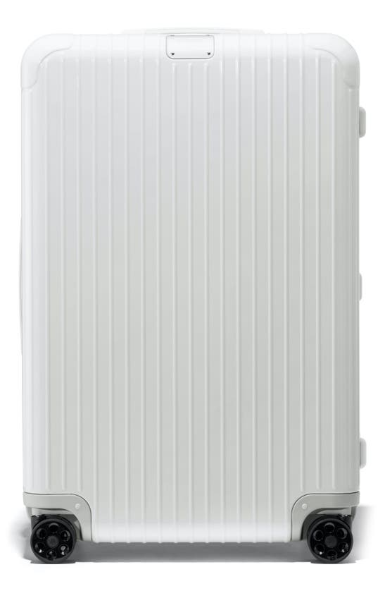 Rimowa Essential Check-in Large 31-inch Wheeled Suitcase In White