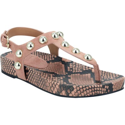 Marc Fisher Ltd Indie Studded Sandal, Pink