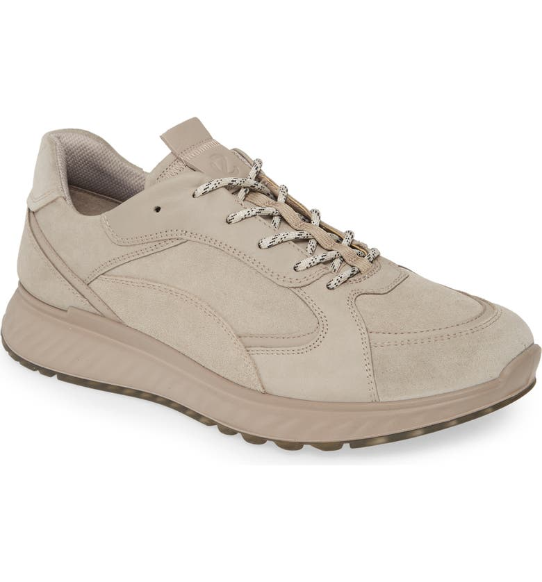 ECCO ST1 Trend Sneaker, Main, color, MOON ROCK LEATHER