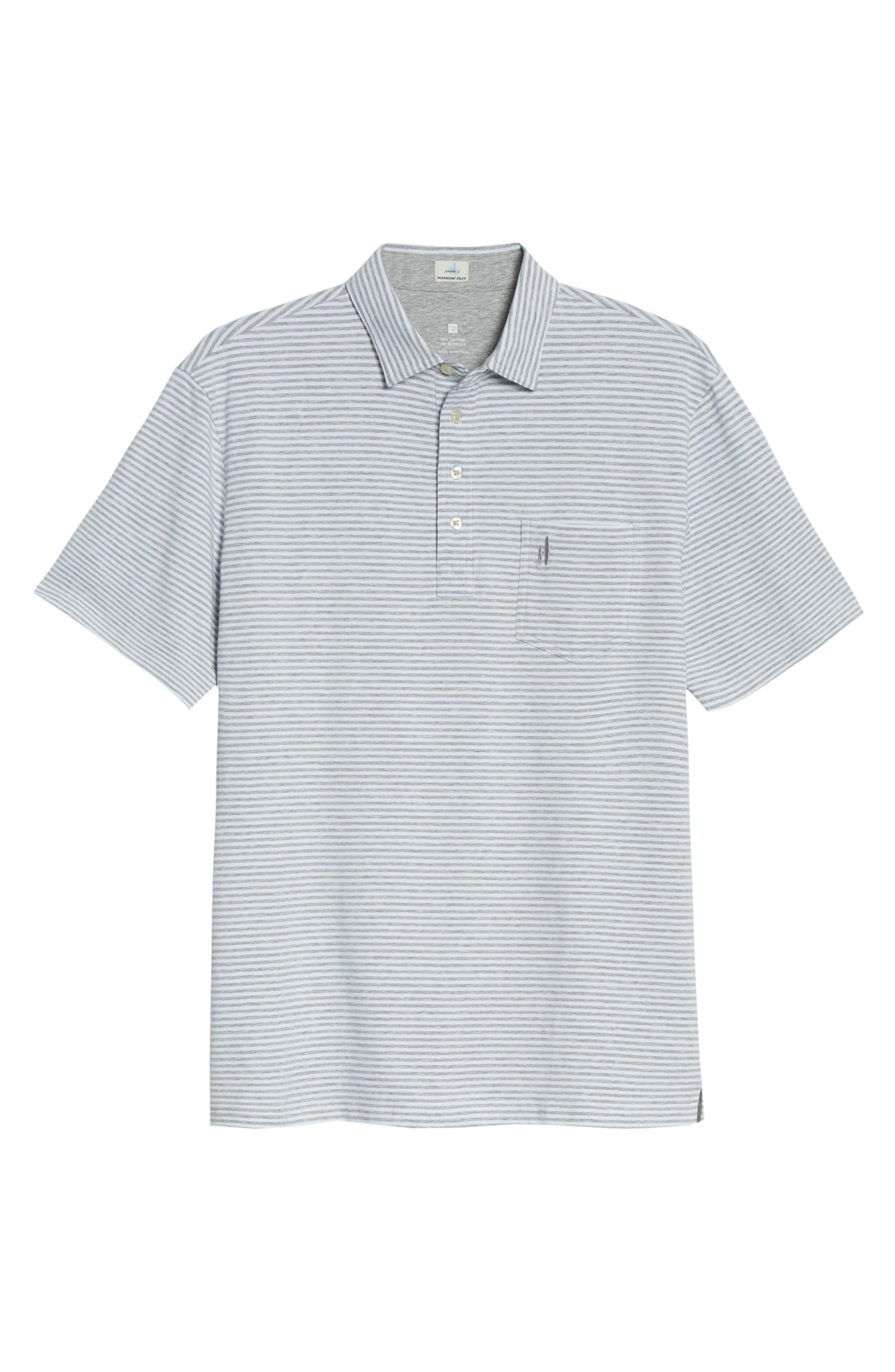 Hangin' Out Dante Stripe Pocket Polo