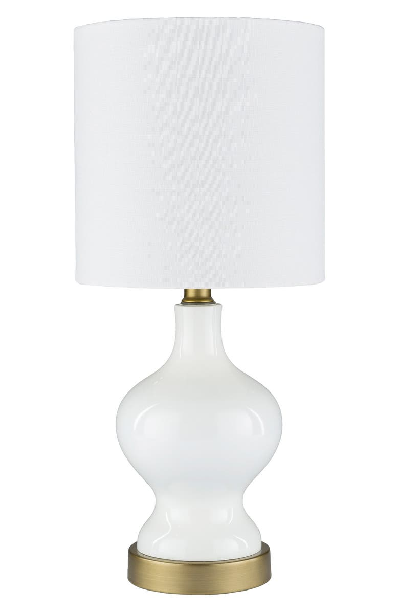 SURYA HOME Laney Table Lamp, Main, color, WHITE