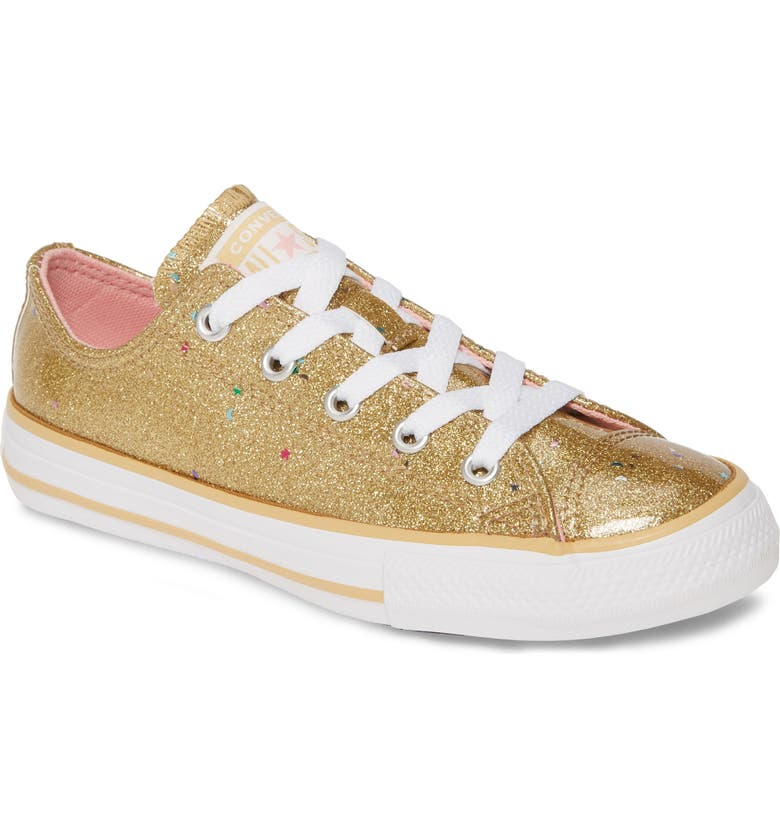 CONVERSE Chuck Taylor<sup>®</sup> All Star<sup>®</sup> Galactic Glimmer Low Top Sneaker, Main, color, 710