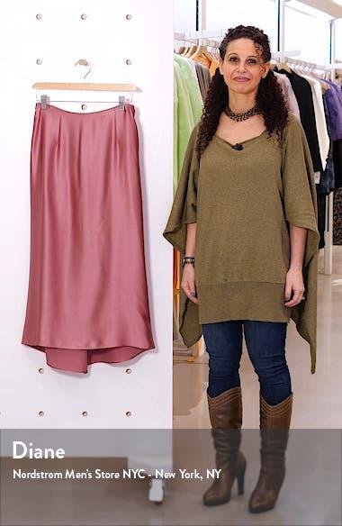 Silk Midi Skirt, sales video thumbnail