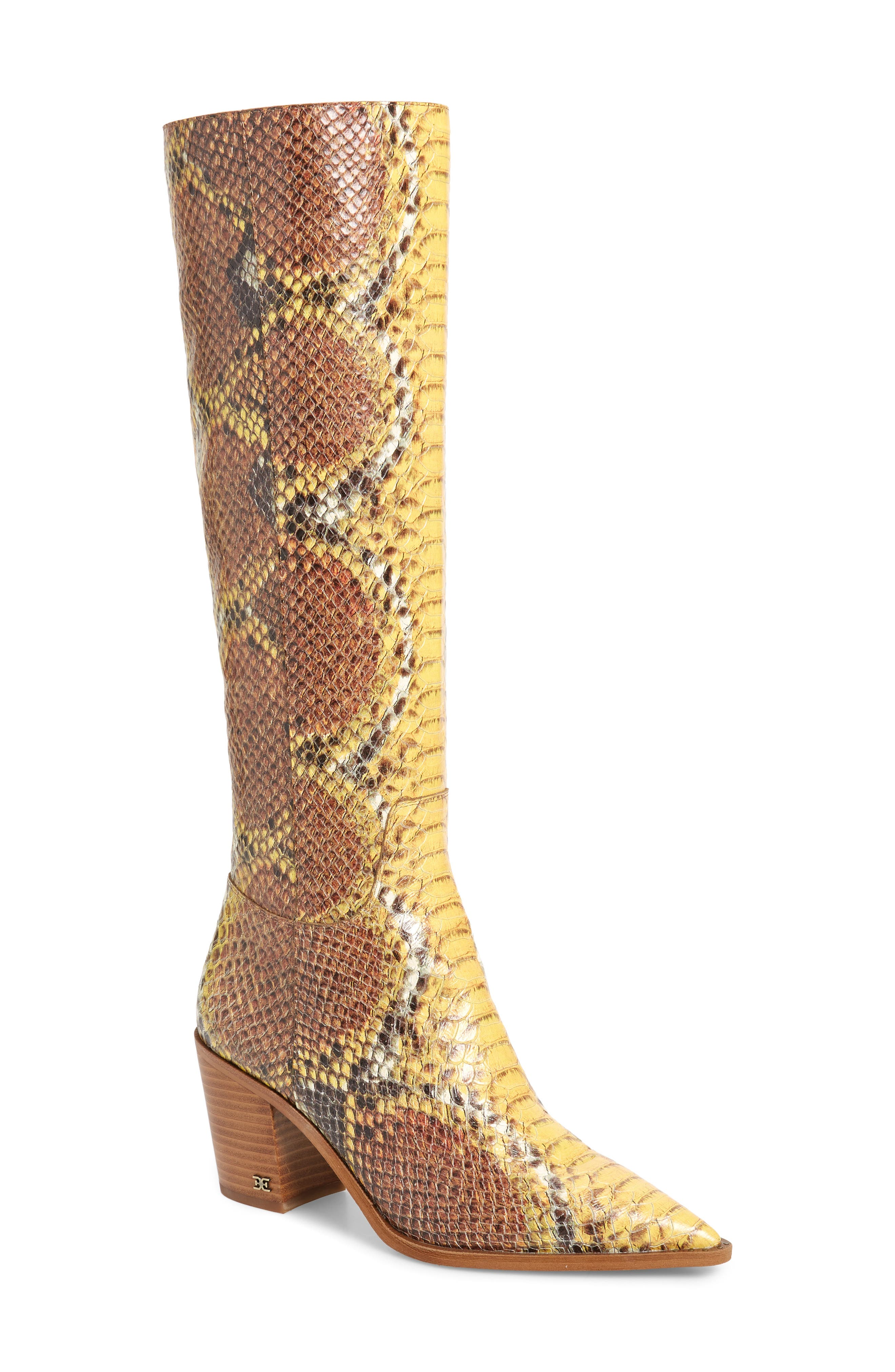 Sam Edelman Boots Lindsey Pointed Toe Knee High Boot