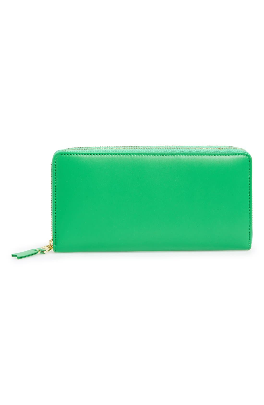Leather Continental Long Wallet, Main, color, 300