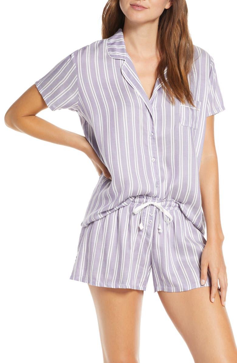 SPLENDID Shortie Short Pajamas, Main, color, 400