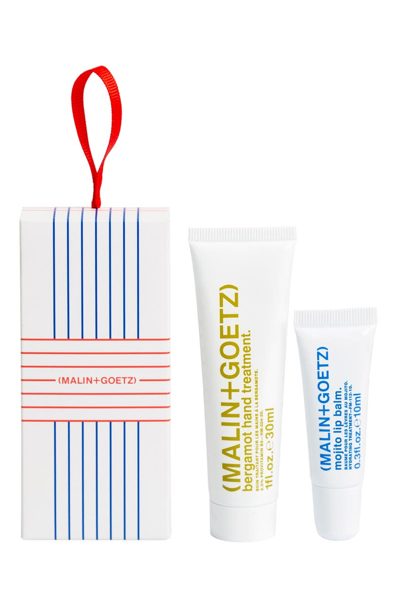MALIN+GOETZ Full Size Hand & Lip Treats Set, Main, color, 000