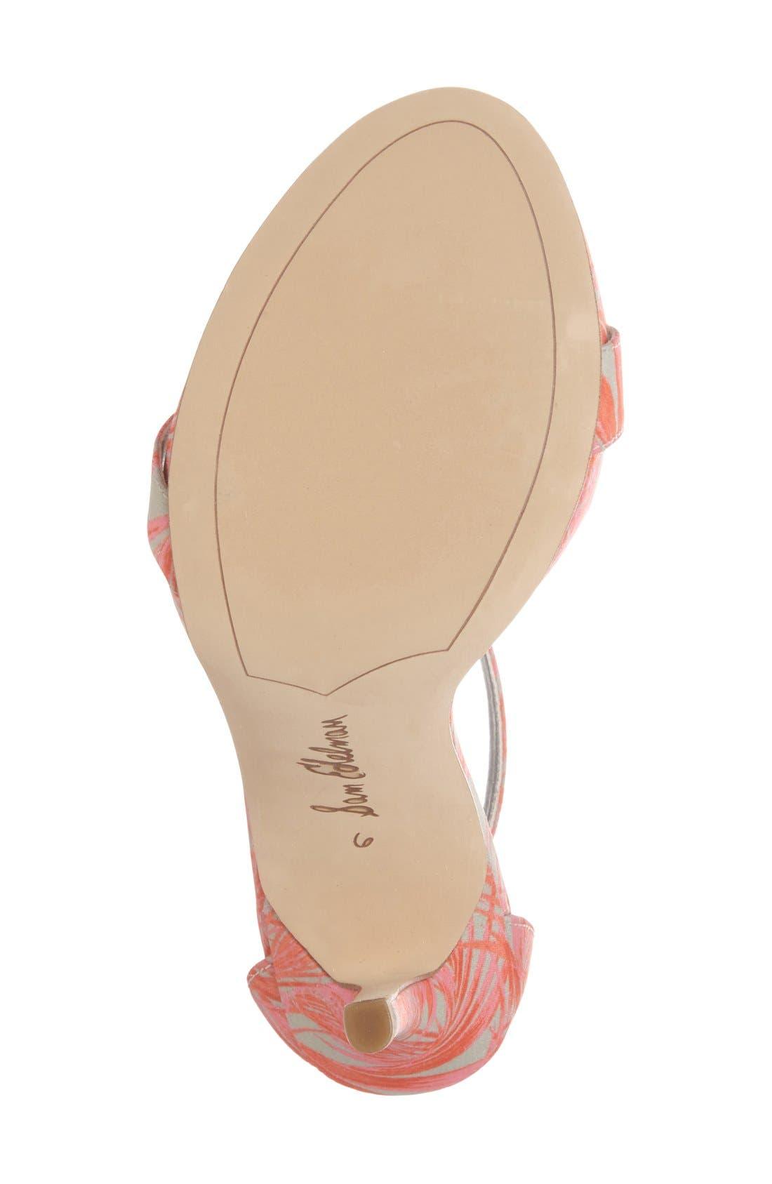 ,                             'Eleanor' Ankle Strap Sandal,                             Alternate thumbnail 57, color,                             022