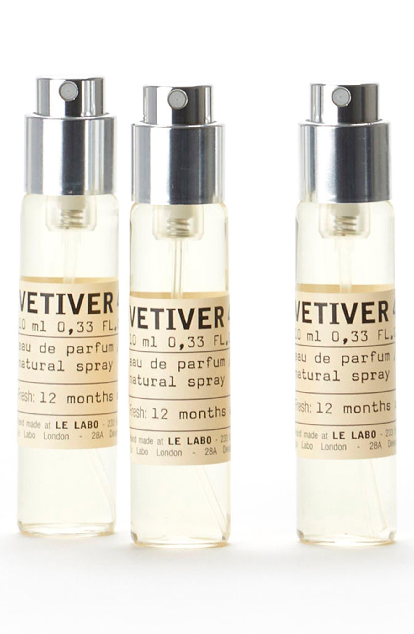 Vetiver 46 Eau De Parfum Travel Tube Refill Trio
