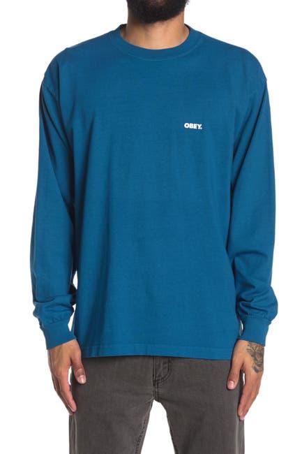 Image of Obey Bold Logo Long Sleeve T-Shirt