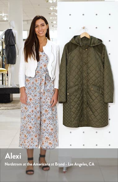 Burne Quilted Coat, sales video thumbnail