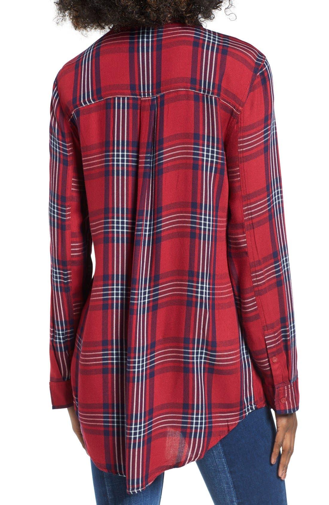 ,                             Plaid Tunic Shirt,                             Alternate thumbnail 35, color,                             601