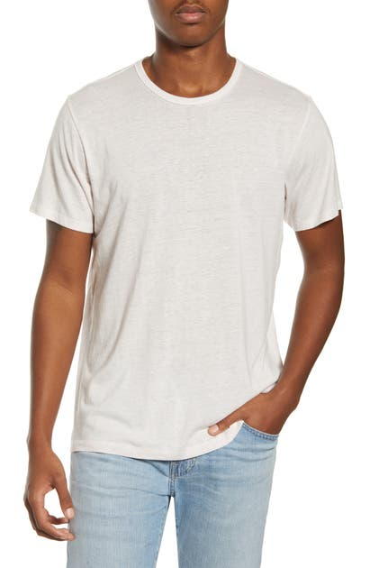 Rag & Bone Neppy Crewneck T-shirt In Ivory