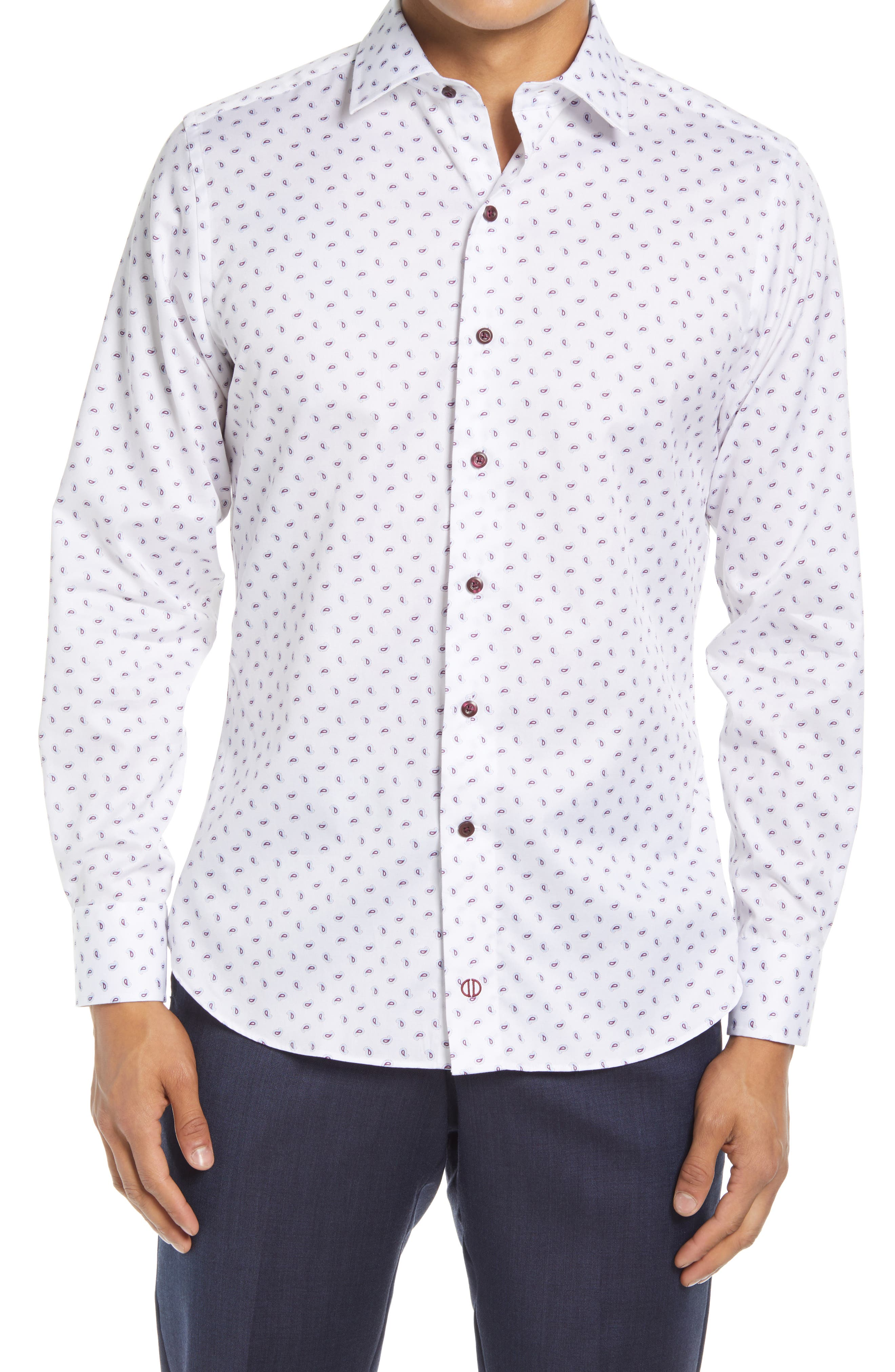 Fusion Paisley Dress Shirt