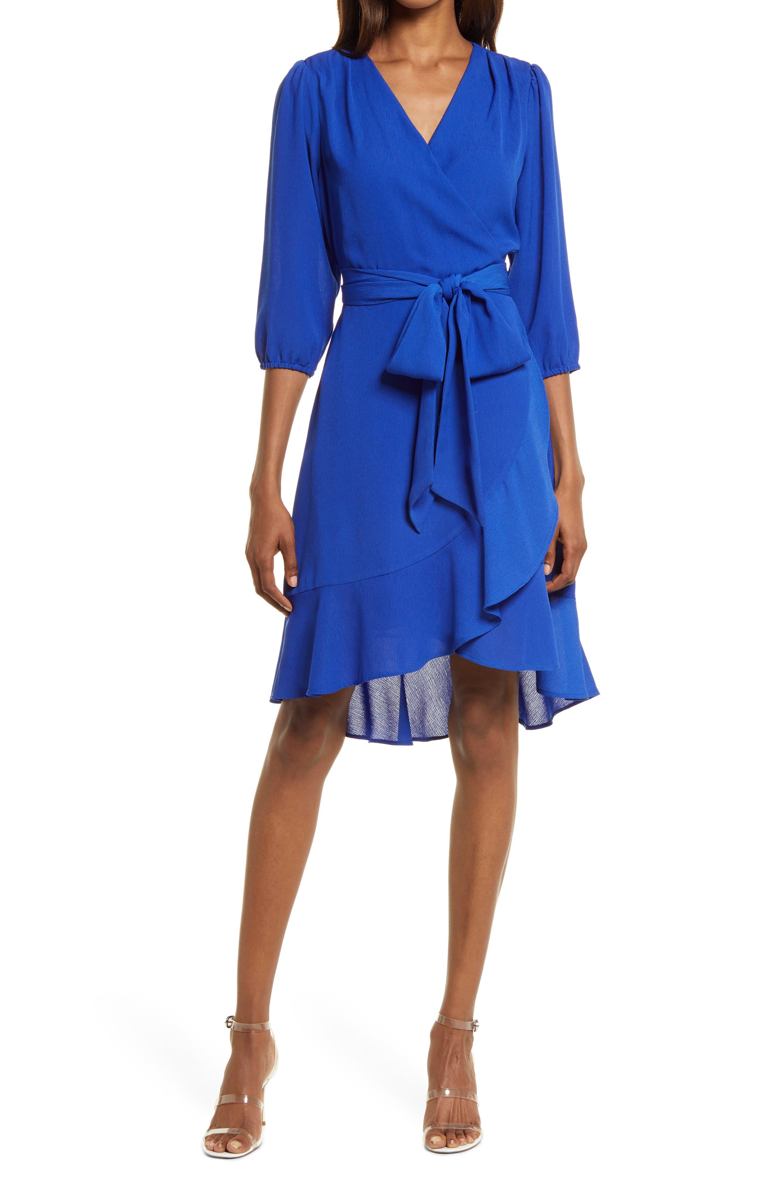 Twirl Faux Wrap Dress