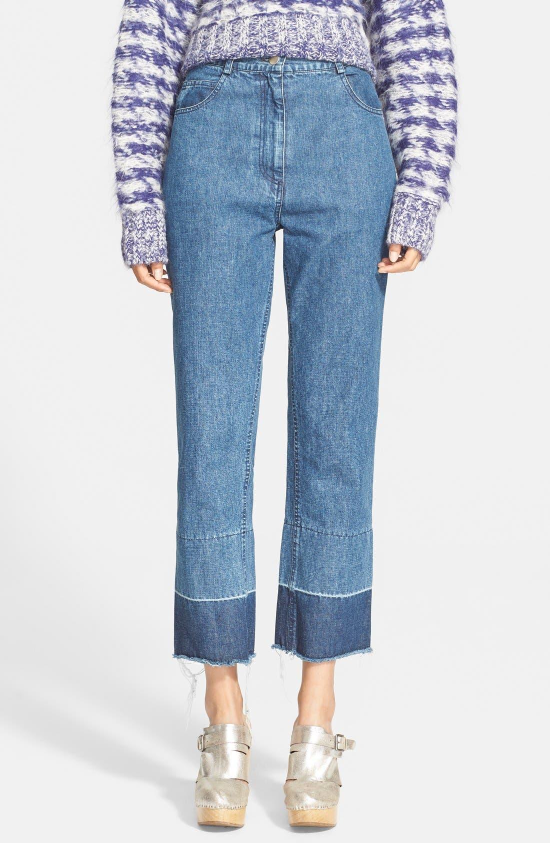 'Legion' Slim Denim Pants, Main, color, 400