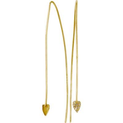 Adornia Diamond Threader Earrings