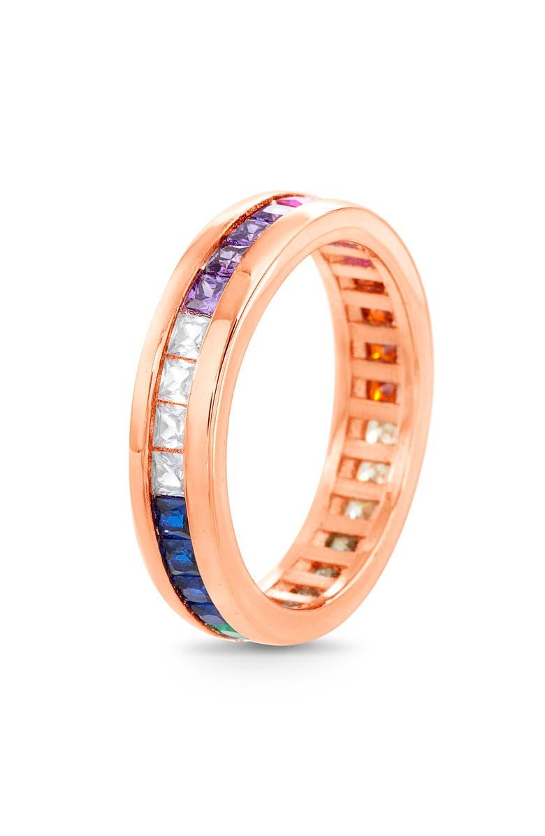 LESA MICHELE Band Ring, Main, color, 710
