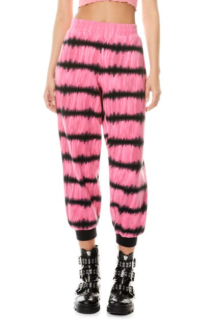Alice And Olivia MAILBU TIE DYE BAGGY JOGGERS