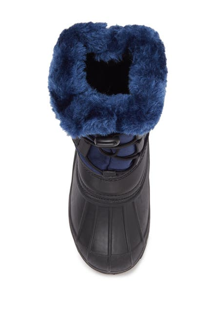 Image of Zoogs Faux Fur Bungee Lace-Up Snow Boot