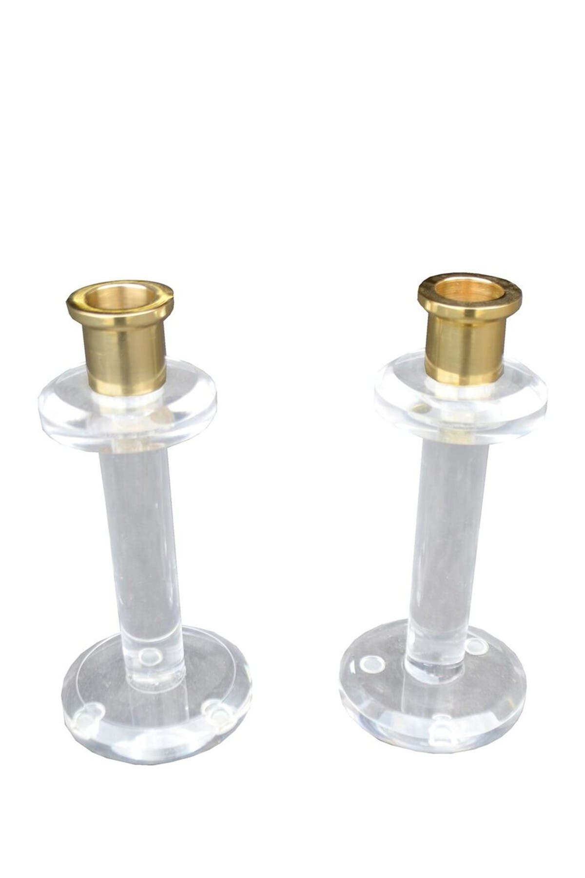 Image of R16 HOME Lucite Candle Sticks