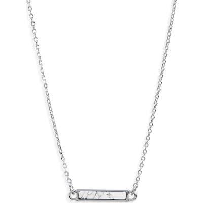 Bp. Stone Bar Pendant Necklace