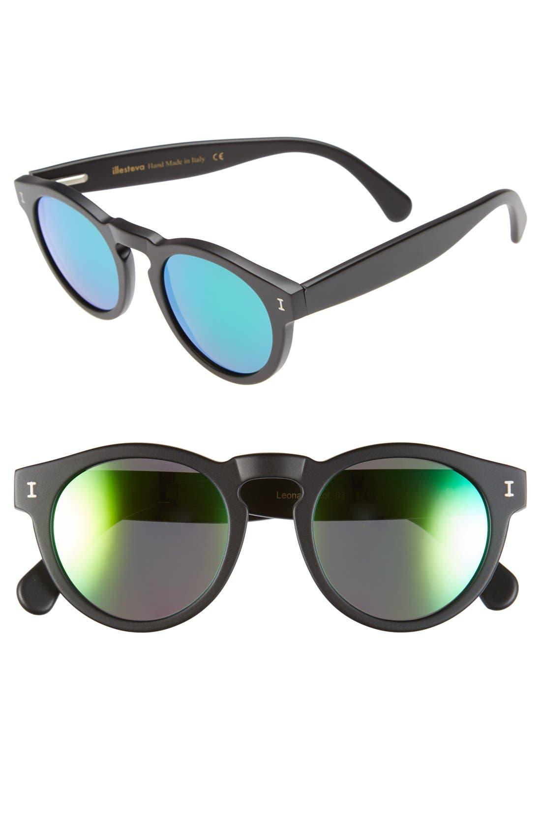 ,                             'Leonard' 47mm Sunglasses,                             Main thumbnail 21, color,                             013