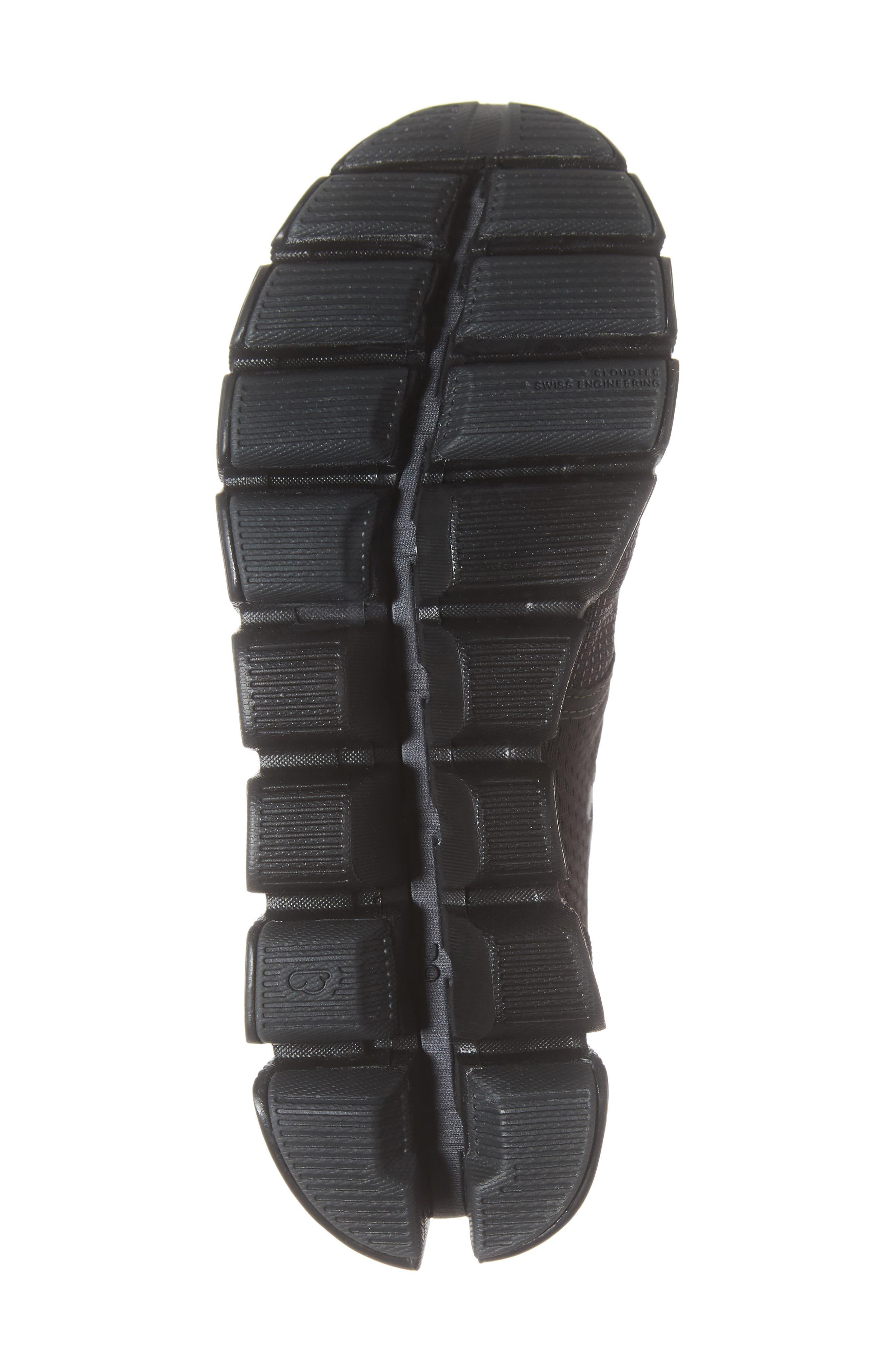 ,                             Cloud X Running Shoe,                             Alternate thumbnail 6, color,                             BLACK/ ASPHALT