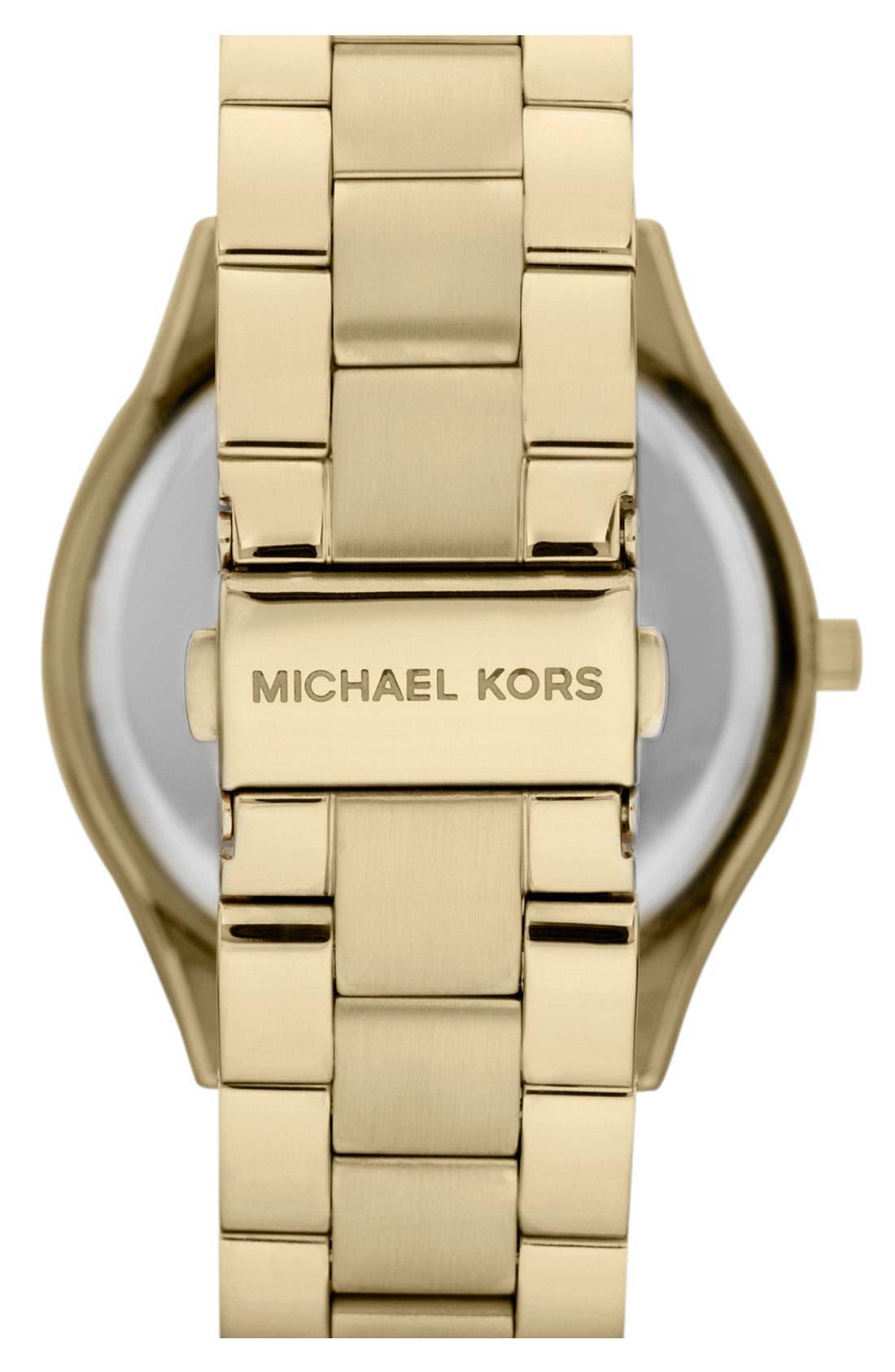 ,                             'Slim Runway' Bracelet Watch, 42mm,                             Alternate thumbnail 39, color,                             710