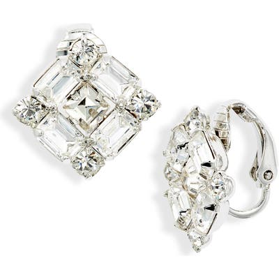 Cristabelle Mix Crystal Clip-On Earrings