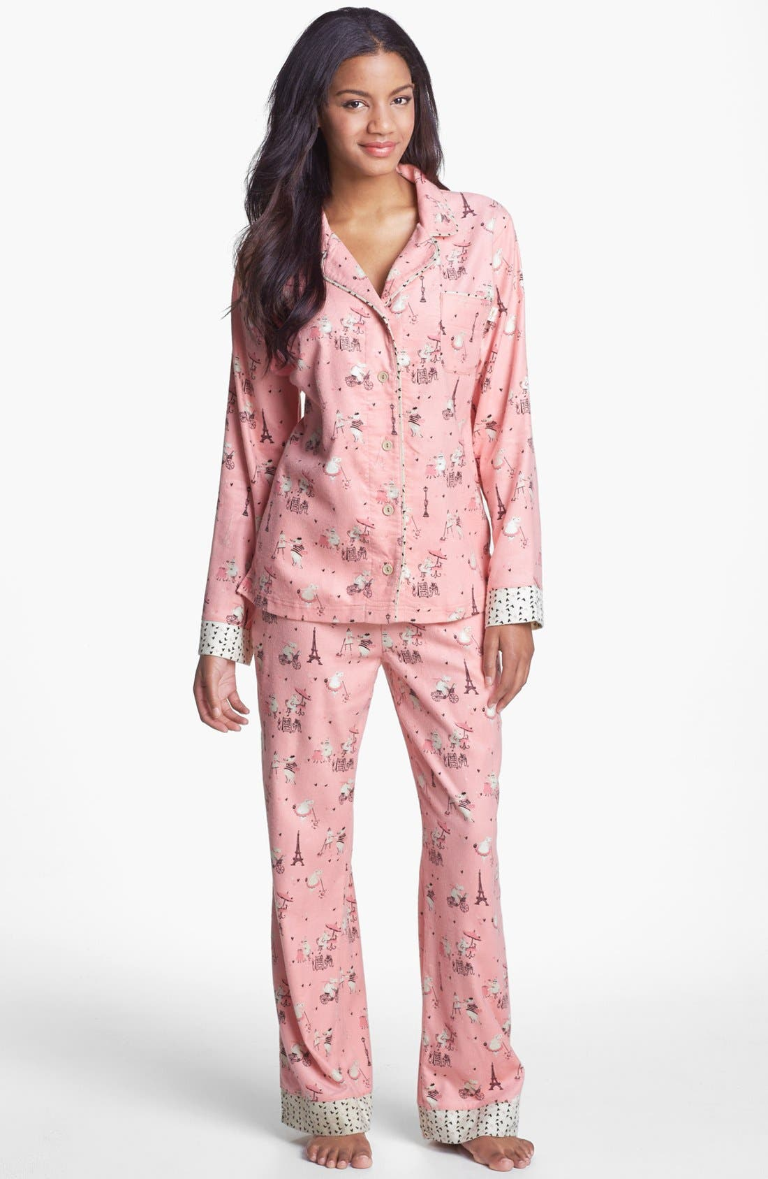 ,                             Flannel Pajamas,                             Main thumbnail 86, color,                             682