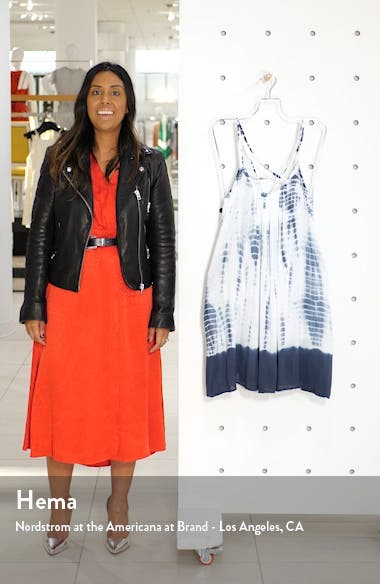Tie Dye Cover-Up Slipdress, sales video thumbnail