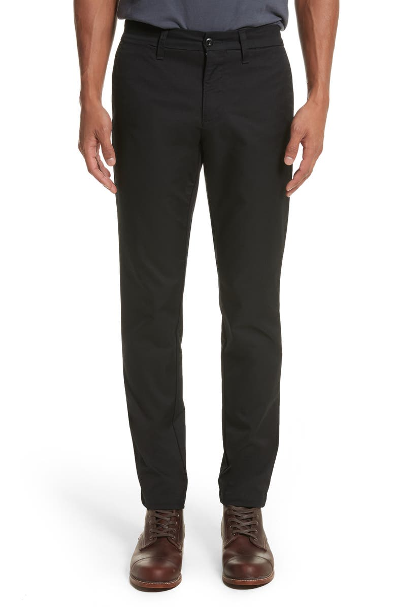 CARHARTT WORK IN PROGRESS Sid Chino Pants, Main, color, BLACK
