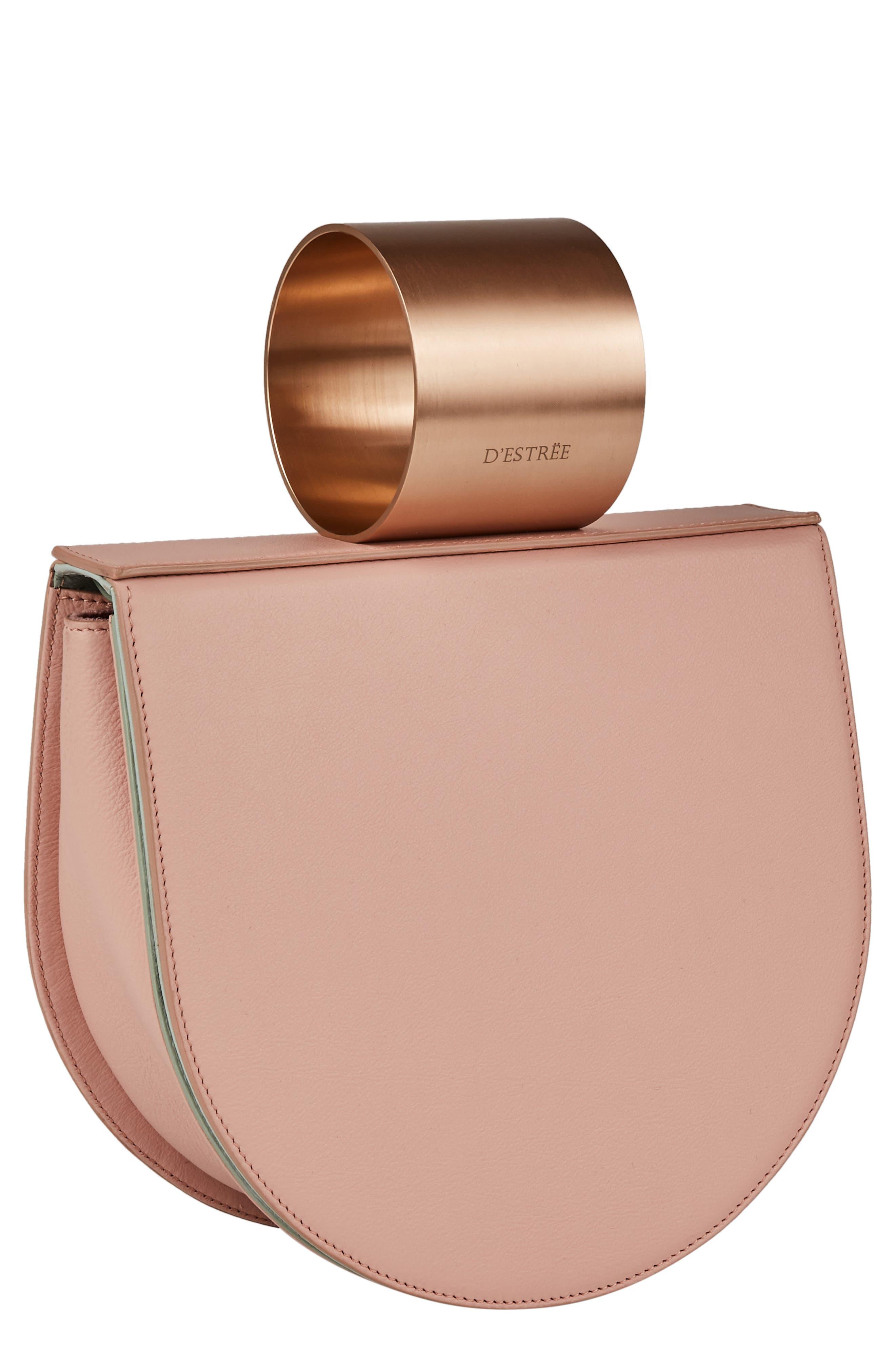 D ESTREE D'Estrëe Mini Lucio Cuff Handle Leather Bag | Nordstrom