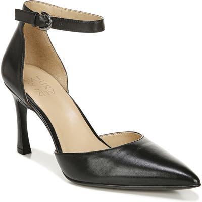 Naturalizer Aurelia Ankle Strap Pump, Black