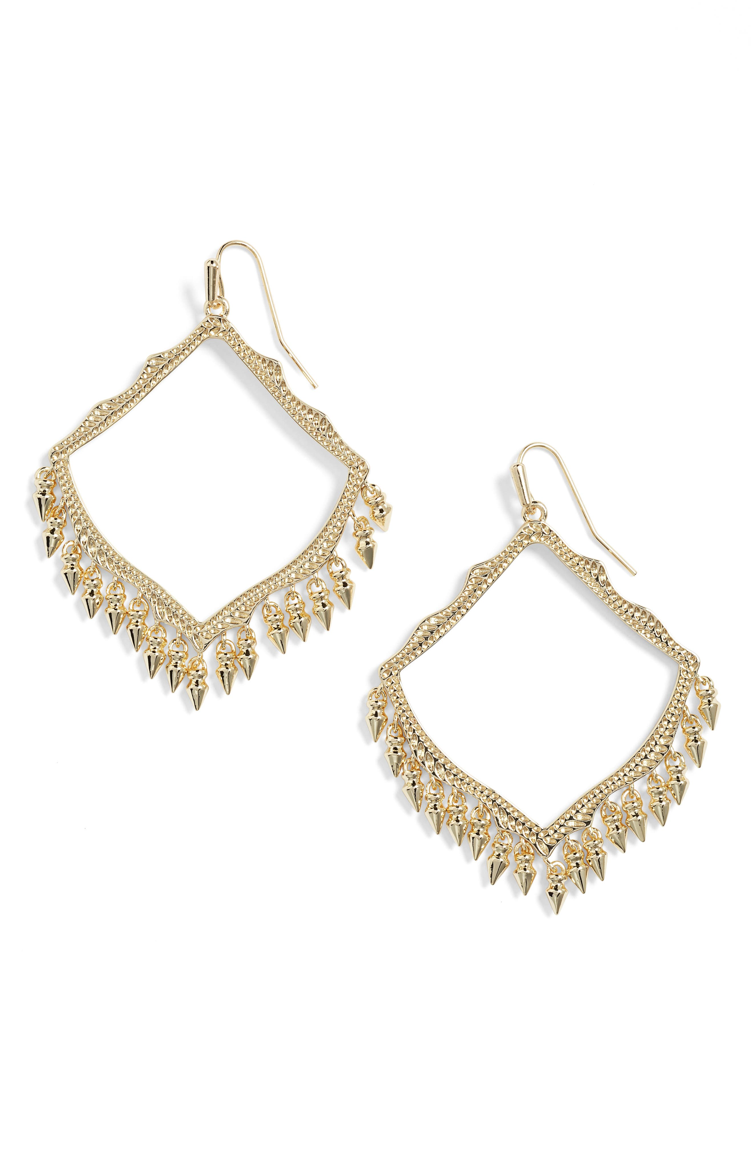 ,                             Lacy Drop Earrings,                             Main thumbnail 6, color,                             710