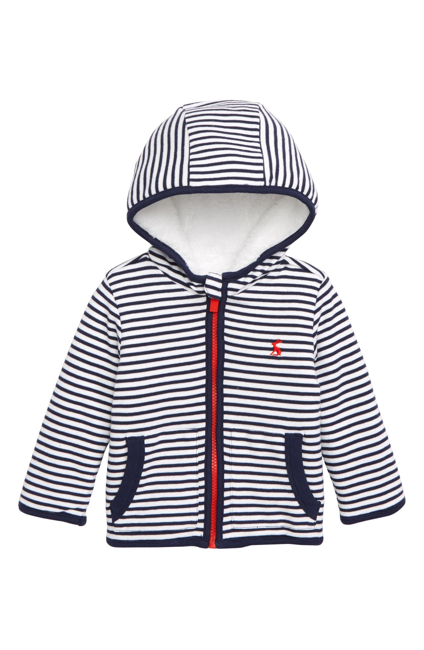 2392b34be259 Joules James Reversible Fleece Jacket (Baby) | Nordstrom