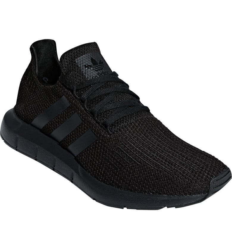 ADIDAS Swift Running Shoe, Main, color, CORE BLACK/ CORE BLACK/ WHITE